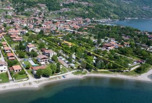 Immobilien Comer See Domaso Camping Direkt am See Seeblick