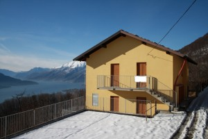 Immobilien Comer See Sorico mit Seeblick