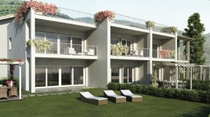 Immobilien Comer See Menaggio Residence mit pool und garage