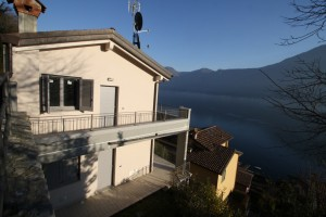 Immobilien Comer See Sala Comacina Residenz mit Schwimmbad