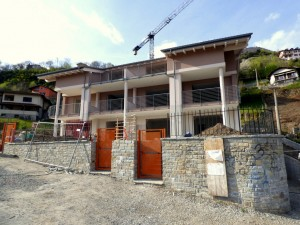 Immobilien Comer See Domaso Residenz mit Pool Seeblick