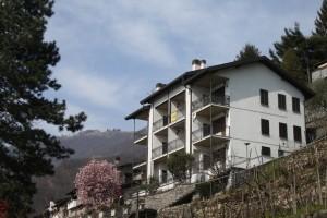 Immobilien Comer See Gera Lario Wohnung mit Seeblick mit Terrasse
