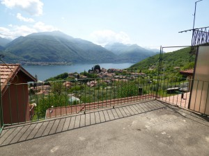 Immobilien Comer See Cremia Haus Seeblick mit Terrasse