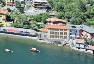 Immobilien Comer See Villa Direkt Am See mit Seeblick