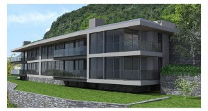 Immobilien Comer See Carate Urio Moderne Residence mit Seeblick