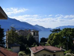Immobilien Comer See in Gravedona ed uniti Wohnung mit Sicht auf See und terrasse