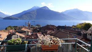 Immobilien Comer See Musso Wohnunh mit Seeblick