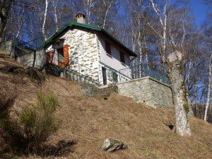 Immobilien Comer See Pianello Lario Haus mit Garten und seeblick