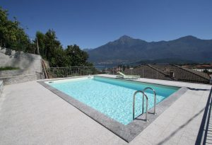 Immobilien Comer See Domaso Residenz mit Pool