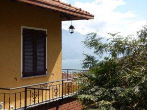 Immobilien Comer See Musso Haus mit Terrasse und Seeblick und garten