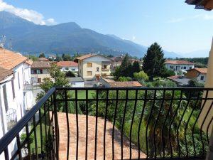 Immobilien Comer See Gravedona ed Uniti Wohnung mit Seeblick - Balkon
