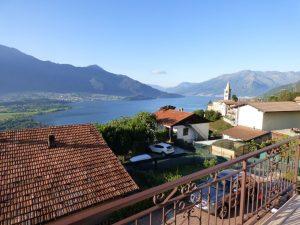 Immobilien Comer See Gera Lario Haus mit Seeblick und Schwimmbad