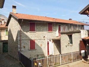 Immobilien Comer See Pianello del Lario Haus mit Terrasse UND SEEBLICK
