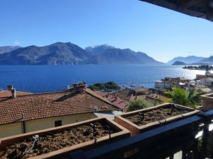 Immobilien Comer See Menaggio Wohnung mit Seeblick - Terrasse
