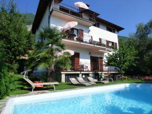 Immobilien Comer See Tremezzina Wohnung mit Schwimmbad - Wohnung