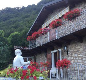Immobilien Comer See Tremezzina restaurierten Rustico mit Seeblick - Rustico
