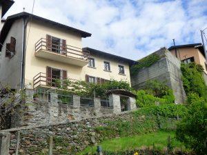 Immobilien Comer See San Siro Haus mit Seeblick - Garten