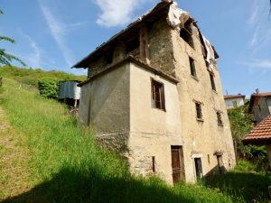 Immobilien Comer See Dongo Rustico mit Seeblick und garten