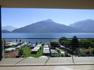 Immobilien Comer See Pianello del Lario Wohnungen mit Seeblick - Seeblick