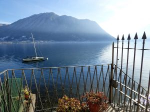 Immobilien Comer See Colonno Hause Vor See - Seeblick
