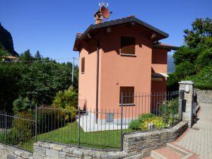 Immobilien Comer See Griante Hause mit Garten - Garten