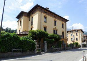 Immobilien Comer See Menaggio Wohnung in historischer Villa - Wohnung