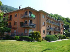 Immobilien Lugano See Wohnung Carlazzo mit Schwimmbad - Garten