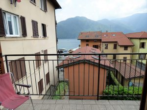 Immobilien Comer See Tremezzina Wohnung mit Seeblick - Balkon