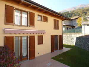 Immobilien Comer See Musso Wohnung Residenz mit Schwimmbad und garage