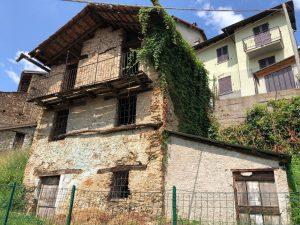 Immobilien Comer See Dongo Rustico Zu Renovieren mit Garten und seeblick