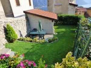 Immobilien Comer See Tremezzina Wohnung mit Seeblick - Garten