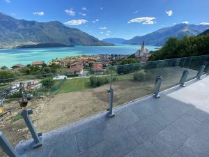 Immobilien Comer See Domaso Neue Wohnung mit Seeblick