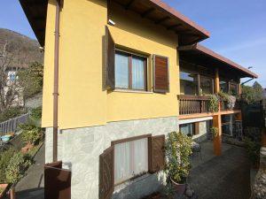 Immobilien Comer See Gera Lario Villa mit Garten