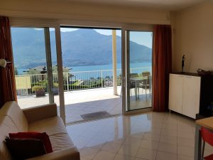 Immobilien Comer See Vercana Wohnung mit Seeblick