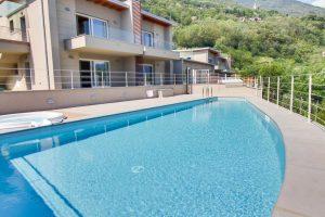 Immobilien Comer See Gera Lario Moderne Wohnung mit Schwimmbad