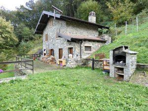 Immobilien Comer See Gravedona ed Uniti Hügelig Haus mit Garten
