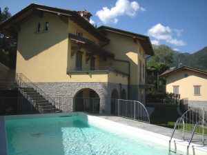 Immobilien Comer See Menaggio Villa mit Schwimmbad