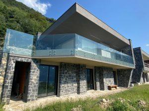 Immobilien Comer See Laglio Residenz modernen Designs mit Seeblick
