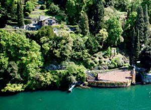 Immobilien Comer See Torno Villa Direkt am See