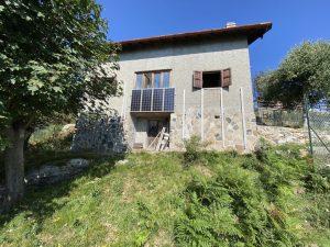 Immobilien Comer See Domaso Hügelig Haus mit Garten