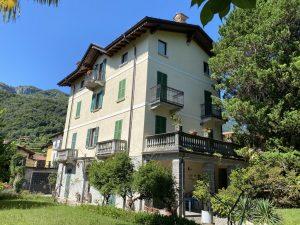 Immobilien Comer See Menaggio Wohung im Historischer Villa