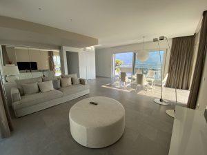 Immobilien Comer See Luxus Wohnung mit Seeblick