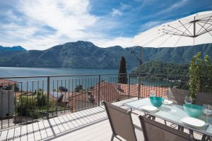 Immobilien Comer See Tremezzina Wohnung mit Seeblick