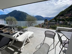 Immobilien Comer See Argegno Villa mit Seeblick