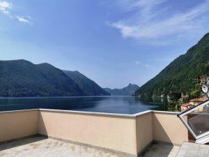Immobilien Lugano See Valsolda Direkt am See
