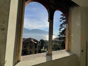 Immobilien Comer See Menaggio Wohnung mit Seeblick