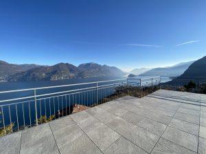 Immobilien Comer See Menaggio Villa mit Seeblick