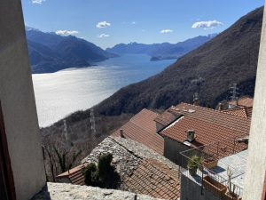 Immobilien Comer See Carcente Haus mit Seeblick - Seeblick