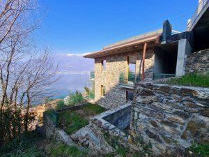 Immobilien Comer See Bellano Villa mit Seeblick
